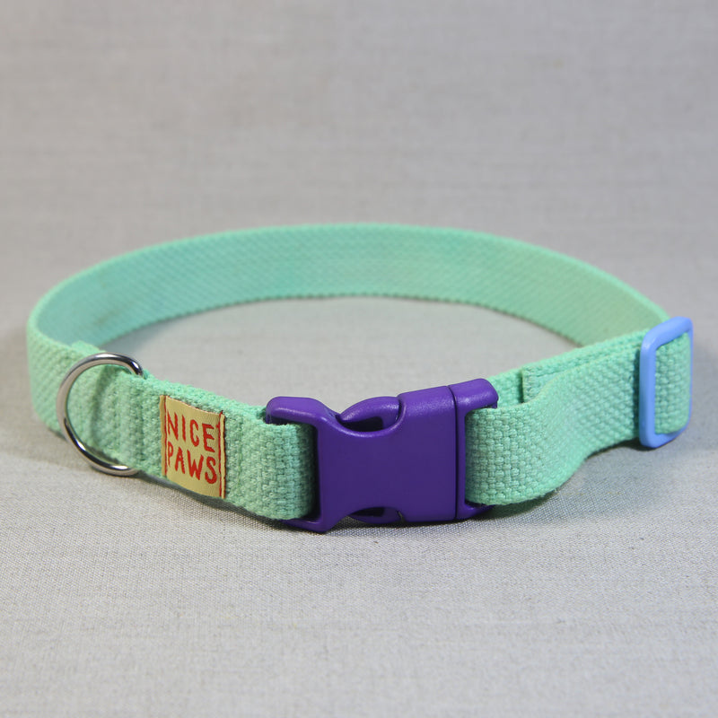 Cotton Collar - Slime/Purple/Light Blue - (L)