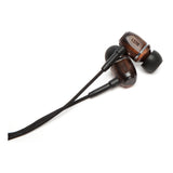 LSTN Bowery wood earbuds Canada - Ebony - Side View