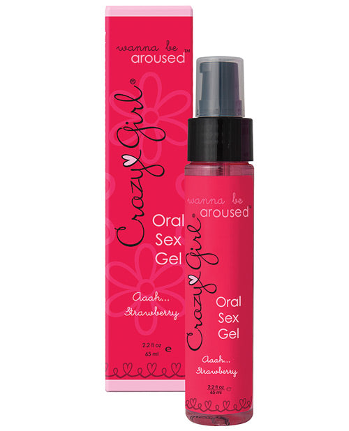 Wanna Be Aroused Oral Sex Gel - Strawberry