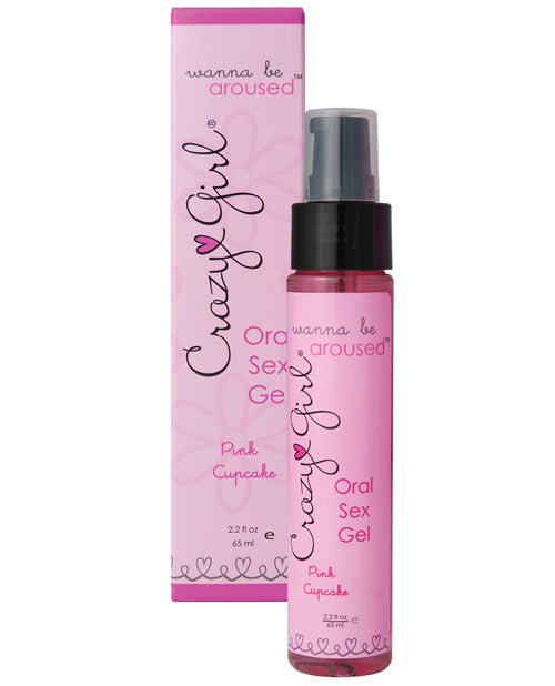 Wanna Be Aroused Oral Sex Gel - Pink Cupcake