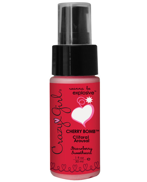 Clitoral Arousal Gel - 1 Oz Strawberry Sweetheart
