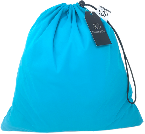 Turquoise Water Resistant Bag