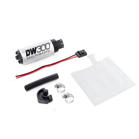 DeatschWerks DW300 Series, 340lph In-Tank Fuel Pump w/Install Kit - 9-301-0791 - Imagine Motorsports
