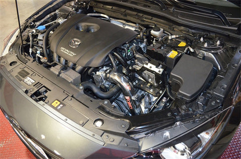 Injen 2014-2015 Mazda 3 2.0L 4Cyl AT Black Cold Air Intake with MR Tech and Air Fusion - SP6065BLK - Imagine Motorsports