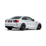 Akrapovic 2018 BMW M2 Competition F87N (Excl 16-17 M2) Slip-On Line (Titanium) w/Carbon Fiber Tips - Imagine Motorsports