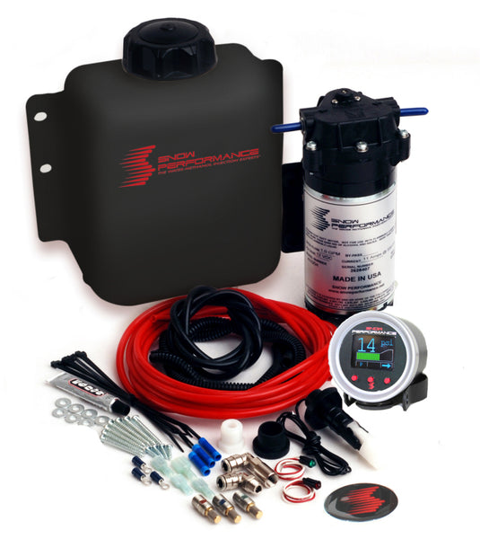 Snow Performance Gas Stage 2 The New Boost Cooler F/I Water Injection Kit (Incl. 175 & 375 ml/min Nozzles) - Imagine Motorsports