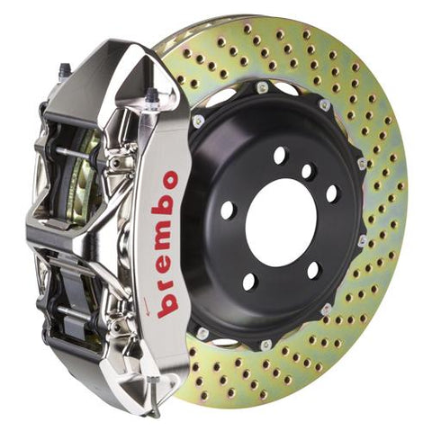 Porsche 996 Turbo (PCCB Equipped) Brembo GT-R Systems Brake Kits