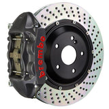 Porsche 981.1 Boxster Spyder (PCCB Equipped) Brembo GT-S Systems Brake Kits