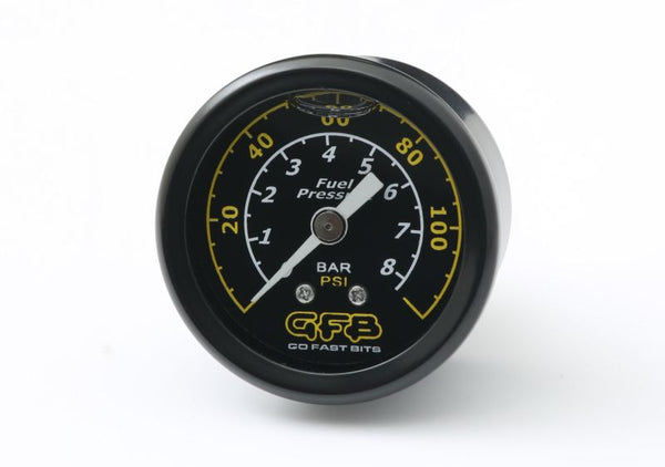 GFB Fuel Pressure Gauge (Suits 8050/8060) 40mm 1-1/2in 1/8MPT Thread 0-120PSI - 5730 - Imagine Motorsports