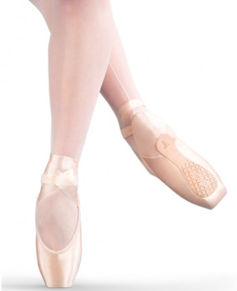 Airess Tapered Toe Firm Pointe Shoe T1134