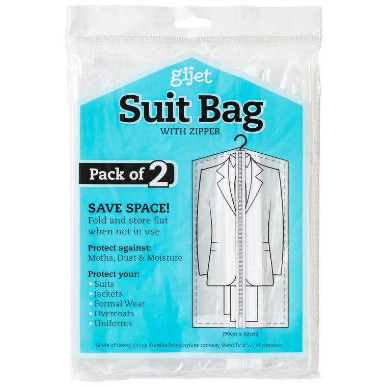 678 Suit Bag - 2 Pack