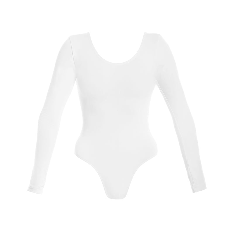 Long sleeve Scoop Leotard CL03