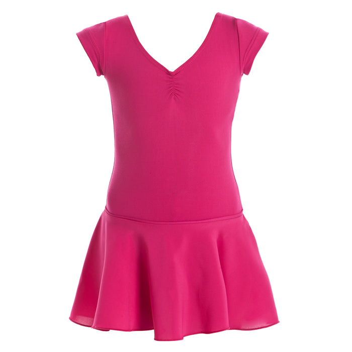 Cap Sleeve Leotard with Skirt CL07