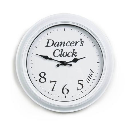 Dancer's Clock WHITE