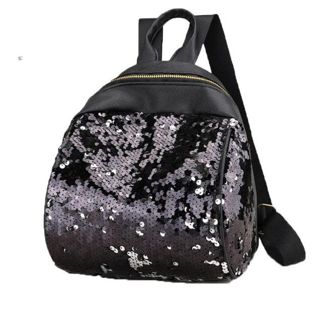 Cute Little Shiny Sequin Backpack