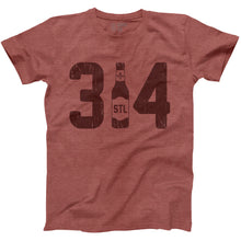 314 Drink Local Unisex Short Sleeve T-Shirt - Red