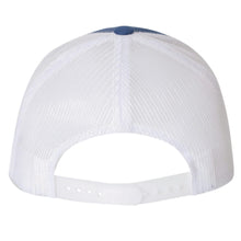 King Louis IX Patch Snapback Trucker Hat - Royal Blue