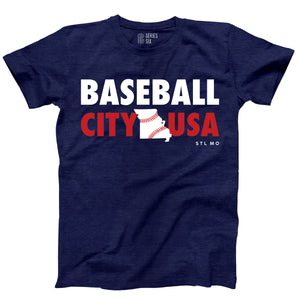 Baseball City USA Unisex Short Sleeve T-Shirt