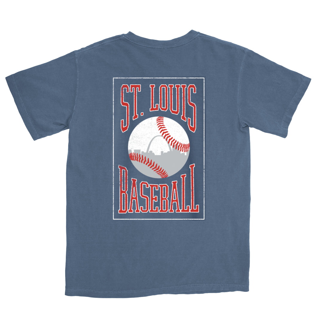 Vintage St. Louis Baseball Short Sleeve T-Shirt