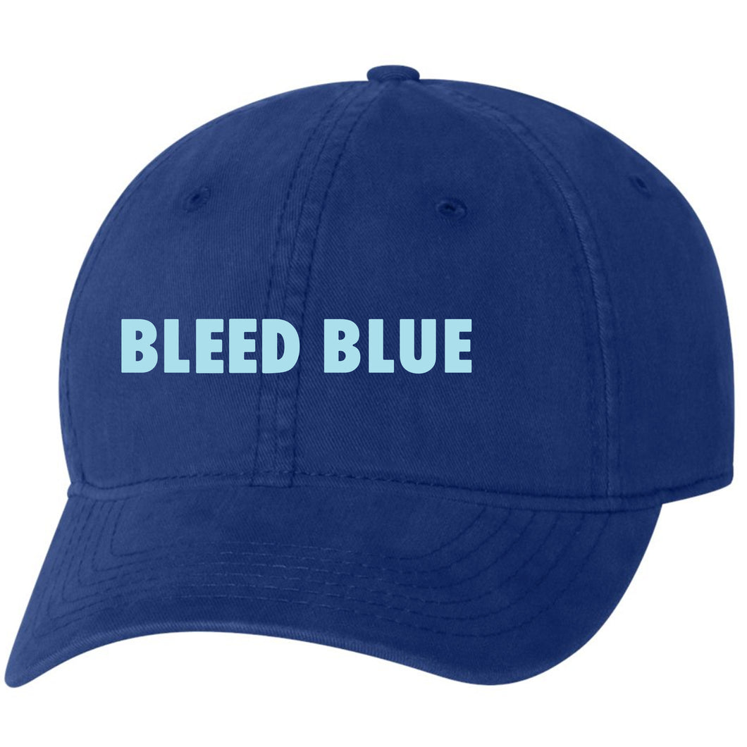 Bleed Blue Soft Style Hat - Royal