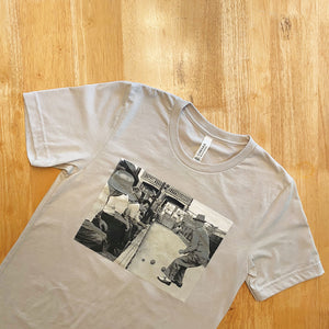 The Hill Bocce Photo Unisex Short Sleeve Shirt - Cream