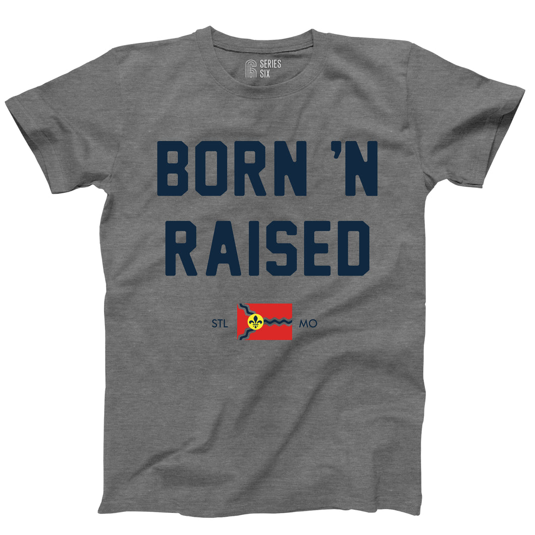 Born 'N Raised St. Louis Unisex Short Sleeve T-Shirt