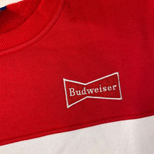Load image into Gallery viewer, Budweiser St. Louis Color Block Crewneck Unisex Sweatshirt