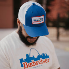 Load image into Gallery viewer, St. Louis Busch Patch Snapback Trucker Hat