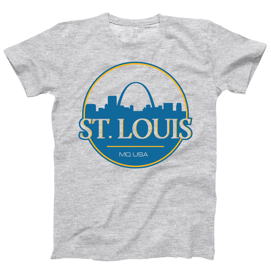 St. Louis Can Unisex Short Sleeve T-Shirt - Ash Grey