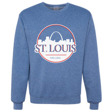 Load image into Gallery viewer, St. Louis Can Unisex Crewneck Sweatshirt - Blue