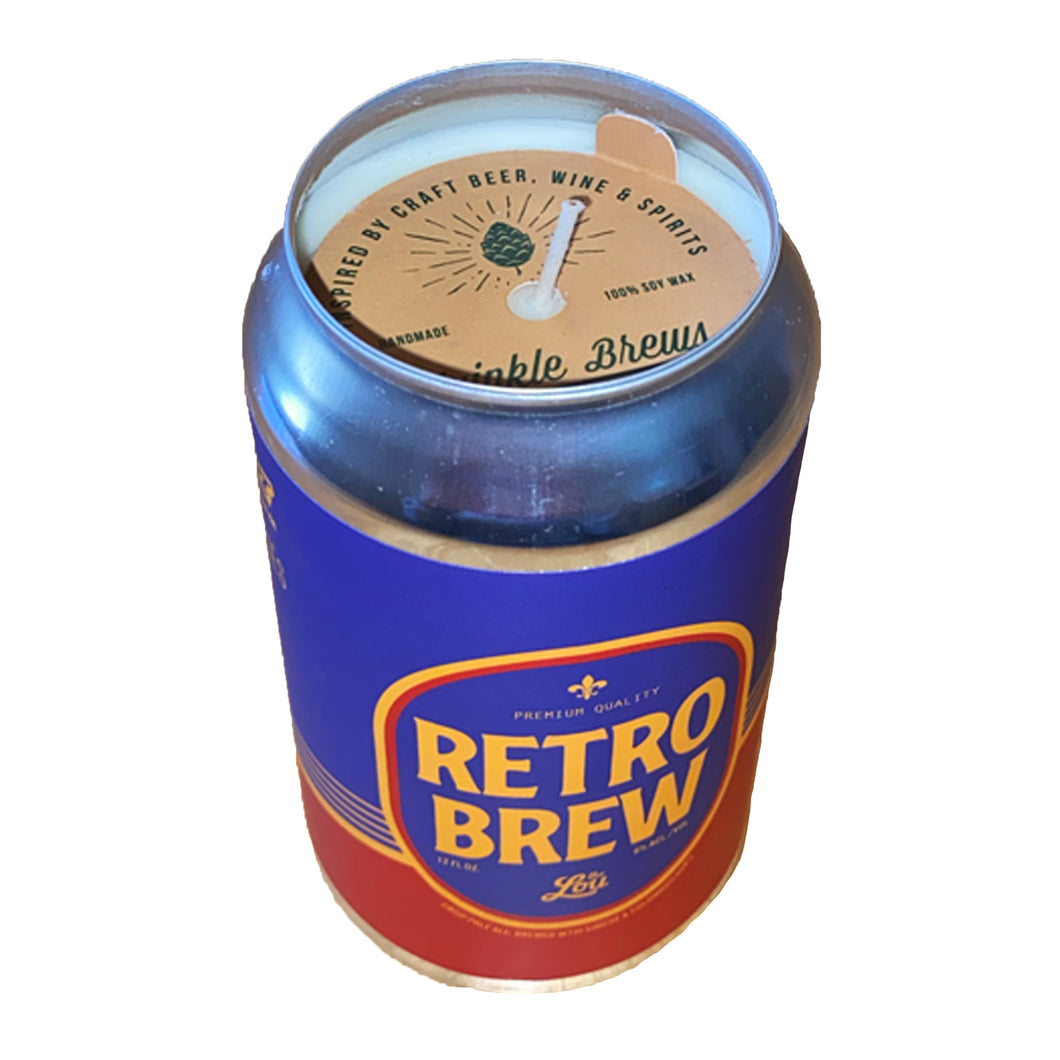 Retro Brew Twinkle Brews Scented Candle