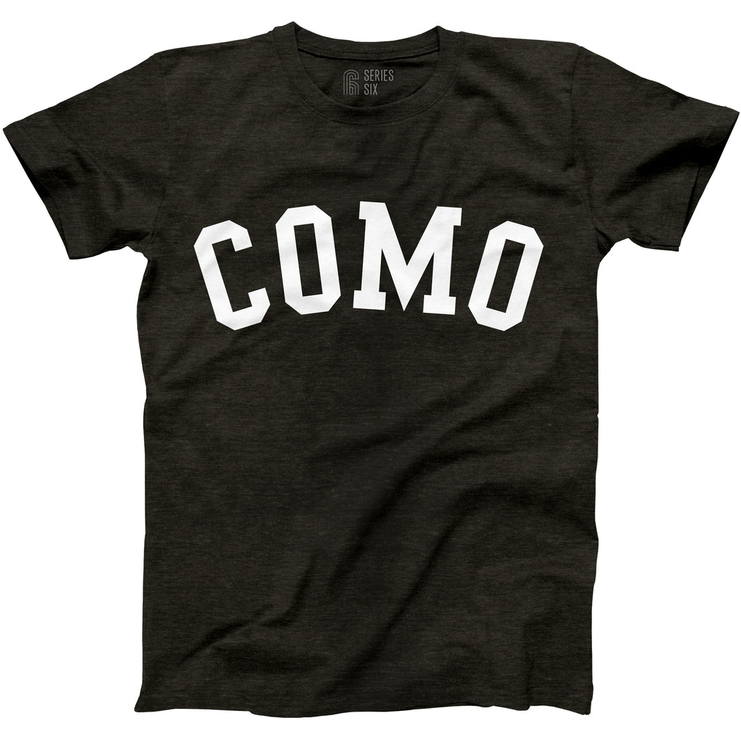 COMO Unisex Short Sleeve T-Shirt - Black