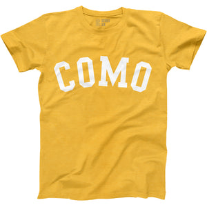 COMO Unisex Short Sleeve T-Shirt - Gold