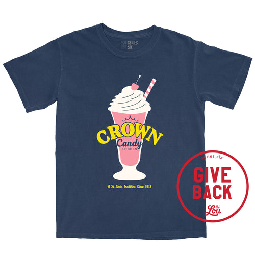 Crown Candy Kitchen Unisex Short Sleeve T-Shirt