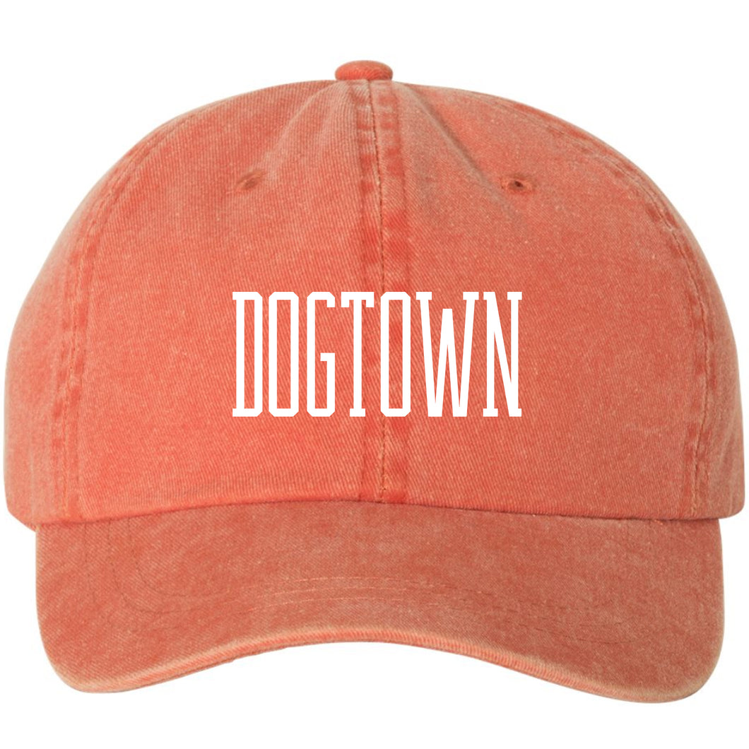Dogtown Soft Style Hat - Orange