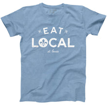 Load image into Gallery viewer, Eat Local St. Louis Short Sleeve Unisex T-Shirt