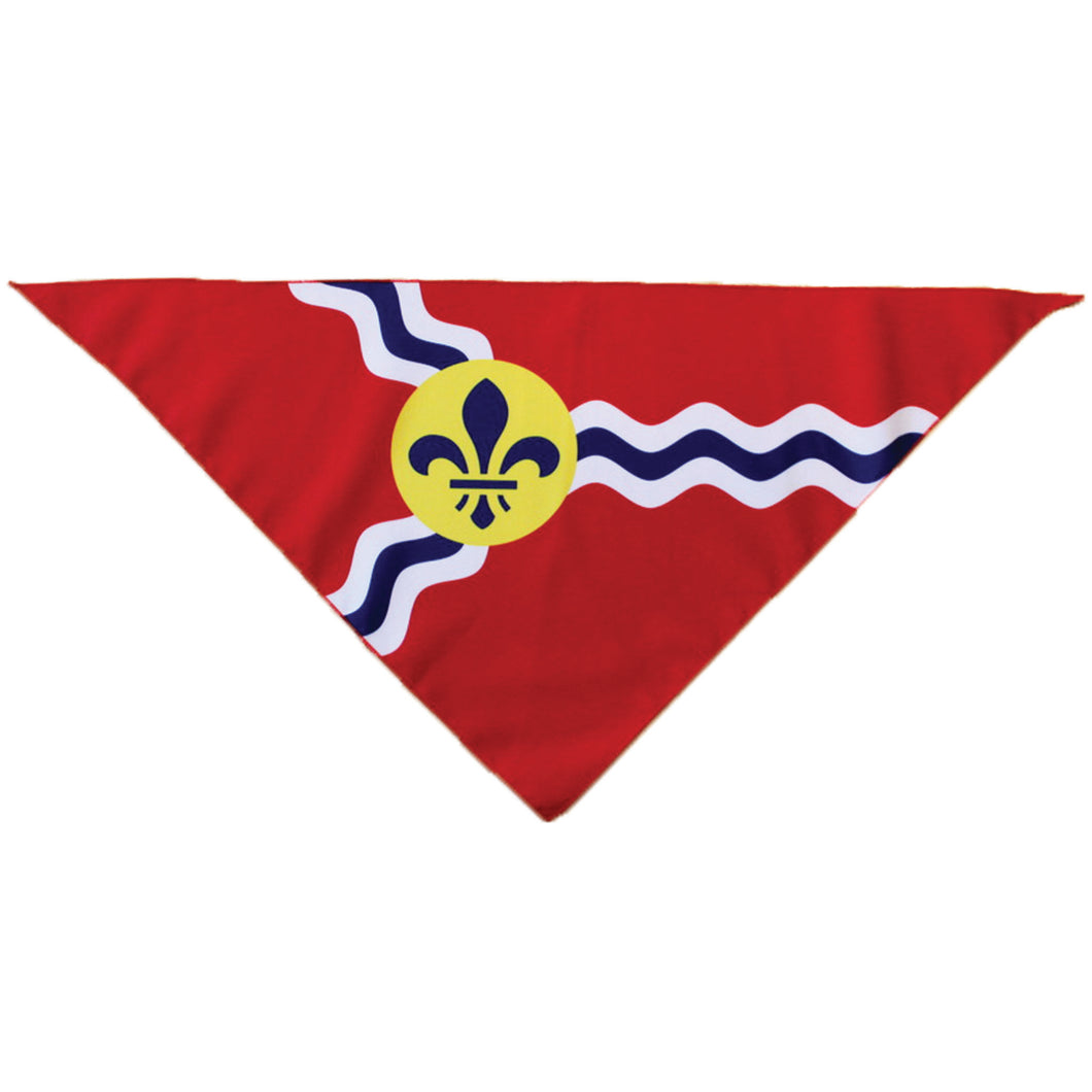 STL Flag Medium Size Pet Bandana