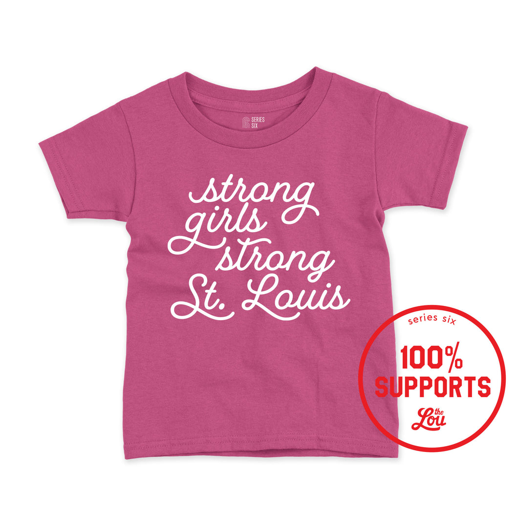 Girls on the Run Strong Girls Youth T-Shirt