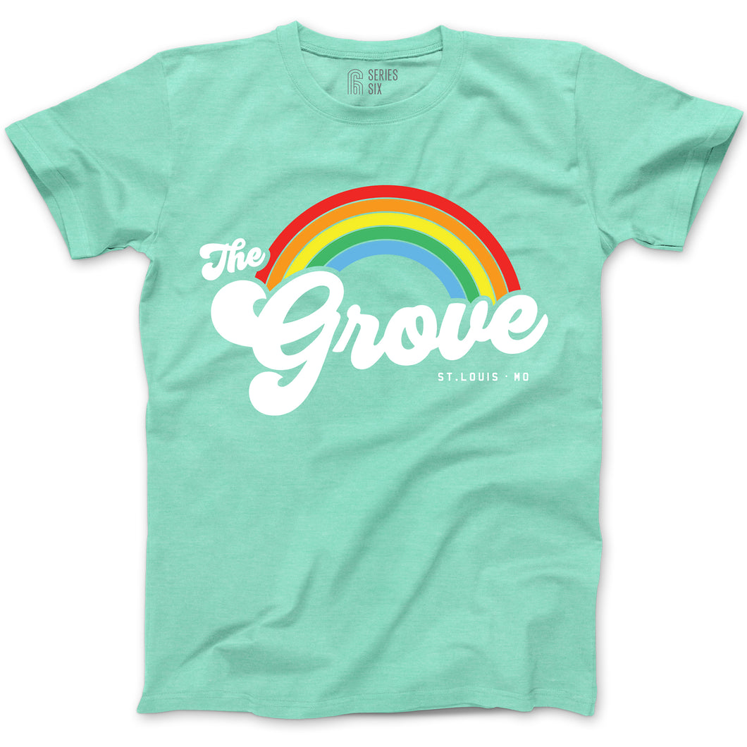 The Grove Short Sleeve Unisex T-Shirt - Mint