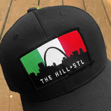 Load image into Gallery viewer, The Hill Patch Snapback Trucker Hat