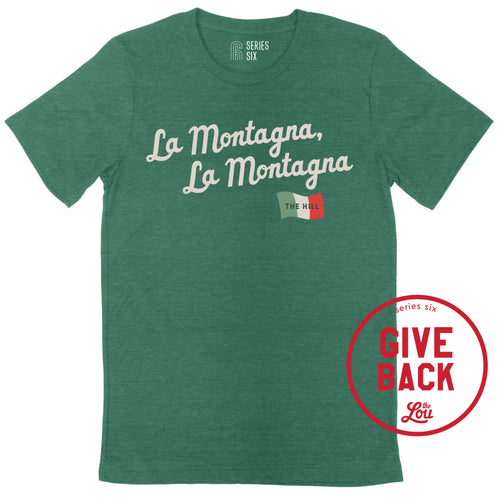 The Hill La Montagna Unisex Short Sleeve Shirt