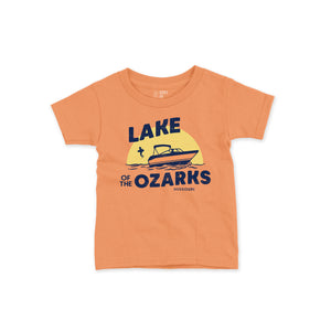 Lake of the Ozarks Short Sleeve Toddler T-Shirt