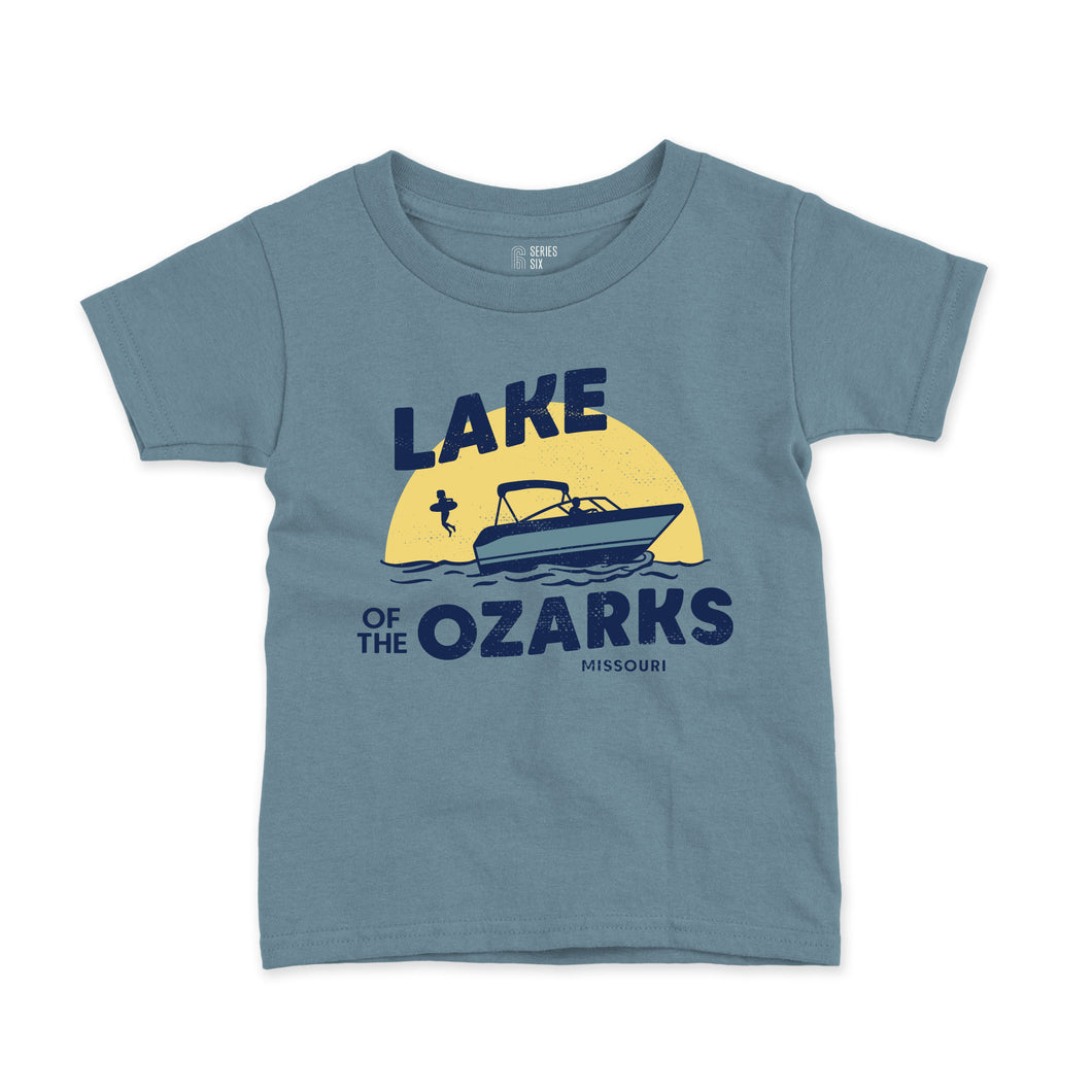 Lake of the Ozarks Short Sleeve Youth T-Shirt