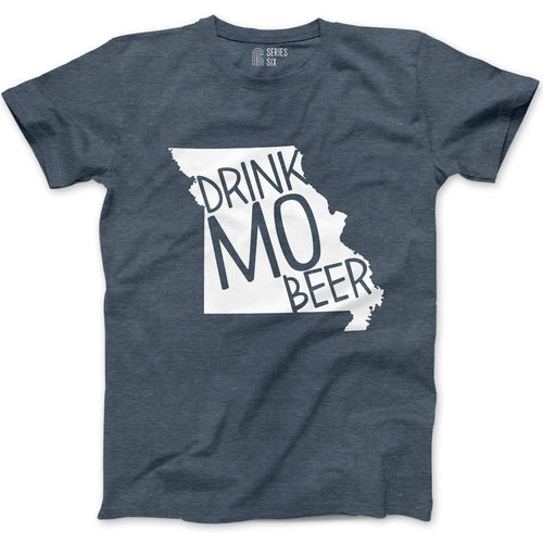 The Original Drink MO Beer Short Sleeve Unisex T-Shirt