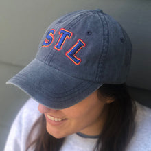 STL Throwback Unisex Hat - Navy