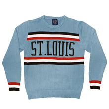 Load image into Gallery viewer, Retro Baseball Knit Unisex Sweater