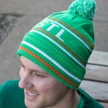 Load image into Gallery viewer, Retro STL Shamrock Unisex Beanie