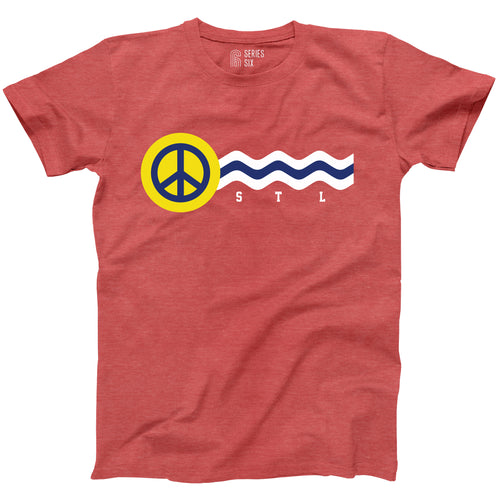St. Louis Peace Flag Unisex T-Shirt