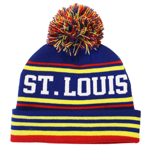 Retro St. Louis Knit Beanie Hat 442b4e96583
