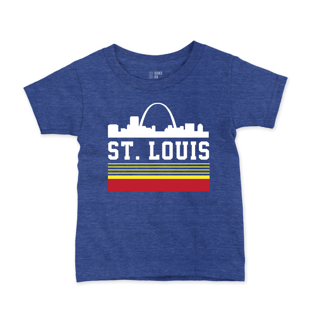Retro St. Louis Arch Short Sleeve Youth T-Shirt